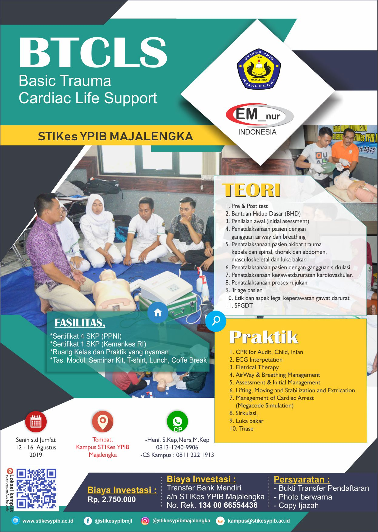 BTCLS Basic Trauma Cardiac Life Support